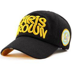 11 Colors Chris Brown Baseball Caps Letter Sports Ladies Gorra Visera Mujer  Chapeau Gorras 3c4220118cb