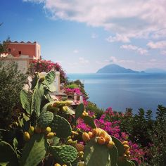 """Isole Eolie: #alicudi con vista su #filicudi"""