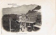 La Place Bertin, Saint-Pierre - Carte postale, Collection Royer & Cie Nancy, cliché H.K. -  Date inconnue