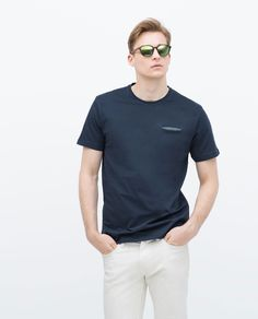 Image 1 of Short sleeved T-shirt from Zara