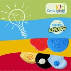 Need Help with Nail Biting, Teeth Grinding, Toy Chewing, Hair Twirling, Clothes Chewing?  KidCompanions #Chewelry & Tougher-than-Silicone SentioCHEWS is the solution! -Kids choose their own shapes, colors, and lanyards. Gently remind them to use their #chewNecklace instead of that constant power struggle of nagging, reminding, pleading to stop chewing and ruining your things or their teeth! www.kidcompanions.com