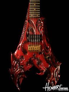 Hembry Drac Guitar (close up)
