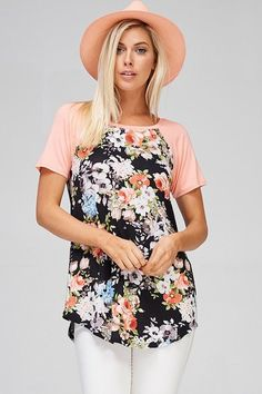 Jersey Floral Shirt