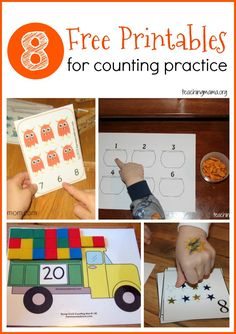 Make counting fun with these free printables!