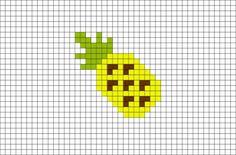 Pineapple Pixel Art