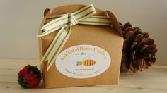 Honey Candies with Mint in mini Gift Box  Mint Honey by cpsweets
