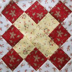 Austen Family Album: Block 19: Cross Patch for Mary Lloyd Austen
