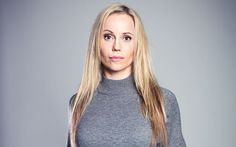 Unafraid to ask, 'Do you want sex?' Saga Norén of hit series The Bridge is no   ordinary TV detective. But as Sally Williams discovers, Sofia Helin is no   ordinary actress