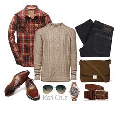 A fashion look from December 2014 featuring Michael Kors watches and ASOS sunglasses. Browse and shop related looks.