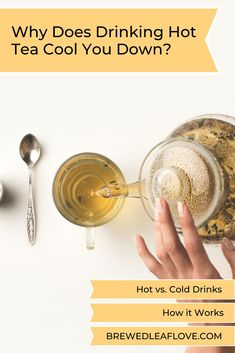 Can it be true that drinking a hot cup of tea can actually cool you down on a hot day?  Find out all the interesting facts to see if a hot drink really can cool you down.