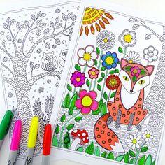 Libros de colorear para adultos: 5 webs para imprimir dibujos