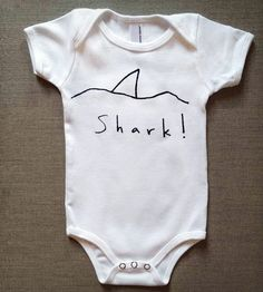 Shark Infant Bodysuit | Gifts Babies & Kids | Handsome Howard | Scoutmob Shoppe | Product Detail