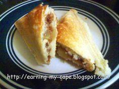 Earning-My-Cape: Apple Shortcake Turnover (Recipe for the Sandwich Maker ) - Luisa Sandwich Maker Recipes, Breakfast Sandwich Maker, Waffle Maker Recipes, Sandwich Toaster, Waffle Sandwich, Breakfast Recipes, Dessert Recipes, Desserts, Sandwiches