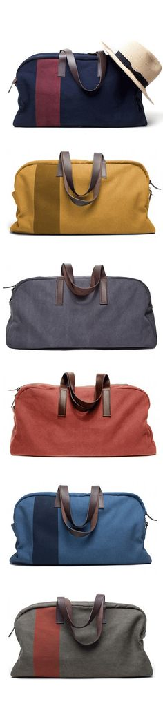 Love these awesome weekender bags! For Nick  http://rstyle.me/~12Rm8