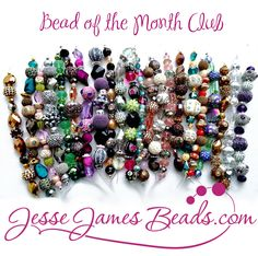 Beautifully unique beads and DIY jewelry supplies from Jesse James Beads, delivered to your door monthly.