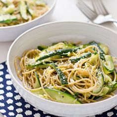 Courgetti & Zoodle Recipes