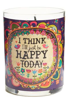 I think I'll just be happy today :)