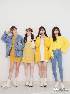 Marishe Korean Fashion Similar Look I Pin By Aki Warinda Korean Fashion Trends, Korean Street Fashion, Korea Fashion, 80s Fashion, Asian Fashion, Look Fashion, Girl Fashion, Fashion Outfits, Womens Fashion