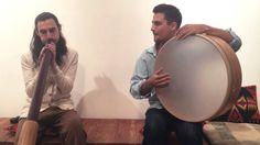 Middle-Eastern Rhythm (Malfouf) on Didgeridoo and Frame Drum