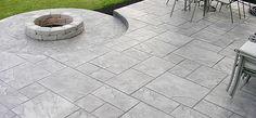 cracked concrete patio ideas - Concrete Patio Ideas and the ...