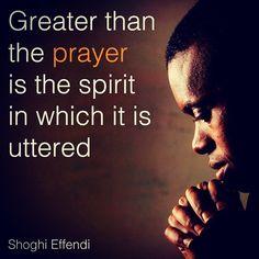 #prayer #ShoghiEffendi #Bahai