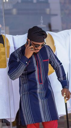 Latest African native wears for men - DarlingNaija African Wear Styles For Men, African Shirts For Men, African Dresses Men, African Attire For Men, African Clothing For Men, Latest African Fashion Dresses, African Print Fashion, Ankara Dress Designs, Costume Africain