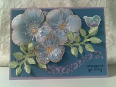 MMTPT383: Purple Paradsise by Precious Kitty - Cards and Paper Crafts at Splitcoaststampers