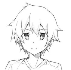 Anime boys in easy drawing - see more about anime boys in easy drawing, anime boy drawing tutorial, anime boy hair drawing easy, anime boy simple drawing, Manga Boy, Anime Boys, Cute Anime Boy, Anime Boy Base, Boy Hair Drawing, Anime Face Drawing, Drawing Faces, Drawing Step, Body Drawing