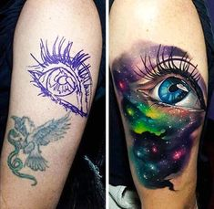 75 Universe Tattoo Designs For Men & Matter And Space > > 75 Universe Tattoo Designs For Men – Matter And Universe Tattoo Designs For Men – Matter And SpaceA tattoo of the universe is Piercing Tattoo, Tattoo Fixes, Faded Tattoo, Bad Tattoos, Body Art Tattoos, Sleeve Tattoos, Tattoos For Guys, Cool Tattoos, Geometric Tattoos