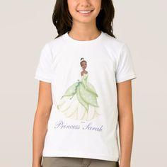 Princess Tiana T-Shirt - tap, personalize, buy right now! Tangled Princess, Princess Merida, Adventure Time Princesses, The Big Four, Disney Infinity, Princess Bubblegum, Marshall Lee, Powerpuff Girls, Fitness Models