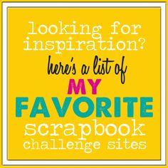 Scrapbook Challenge Sites | rukristin papercrafts