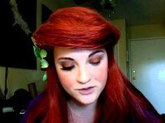 The Little Mermaid Ariel makeup tutorial