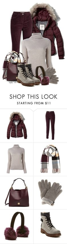 """""""Abercrombie & Fitch Classic Puffer Jacket"""" by kiki-bi ❤ liked on Polyvore featuring Abercrombie & Fitch, Fat Face, Etro, River Island, Mulberry, UGG Australia, Dena and Manas"""
