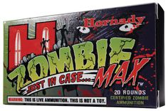 Hornady ZOMBIE 223 Remington ZMax 55 GR 20Box from www.shop.everythingweapons.com