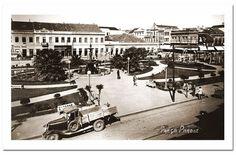 Praça Parobé antigamente