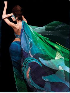 Satya Paul Sari. Am I a mermaid or a goddess - or both?