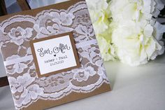 Rustic lace wedding