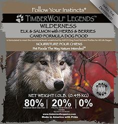 Wilderness Legends Salmon Elk Herbs  Berries -- You can find out more details at the link of the image. (Note:Amazon affiliate link)