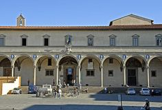 Brunelleschi's Foundling Hospital in Florence - First Renaissance Masterpiece