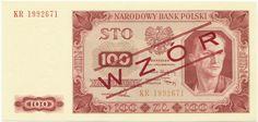 100 Zlotych 1948 (Musternote) Polen Volksrepublik