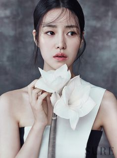 Lim Ji Yeon is an elegant flower for 'Sure' Korean Beauty, Asian Beauty, Beauty Photography, Portrait Photography, Lim Ji Yeon, Best Photo Poses, Ethereal Beauty, Elegant Flowers, Korean Actresses