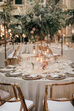 Mediterranean coast meets California elegance in this summer wedding in Spain - 100 Layer Cake