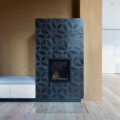 #black on black VeSta #Raku #tiles used for an #oven #tiling #tileaddiction #tiled #handmadetile #interior #interiors #interiordesigner #interiordesign #instahome #idcdesigners #architecture #homedesign #homedecor #dsfloors #residential #designer #design by karak_tiles
