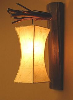 Modern idea for a lamp...like :)
