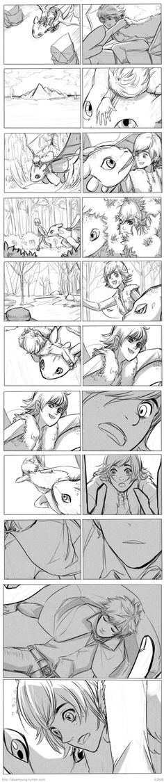 Hiccup/Jack - How I met him by Breetroad.deviantart.com on @deviantART