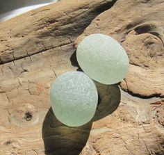 Large Sea Glass Eggs, Aqua Authentic Surf Tumbled Smooth No Hole Jewelry Making Gems by KreationsfromKaos on Etsy Sea Glass, Surfing, Aqua, Beaded Necklace, Eggs, Jewelry Making, Smooth, Trending Outfits, Unique Jewelry