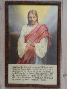 Gammelt Jesusbilde