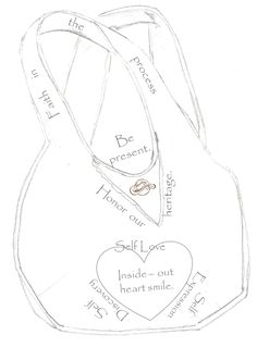 Traveling Sanctuary Sisterhood Tote B*a*g anatomy