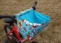 bike basket (there's a couple different bike basket tutorials here)