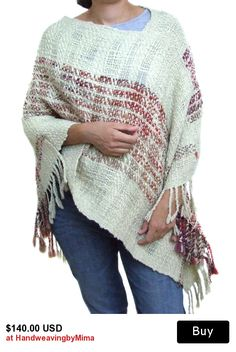 Items similar to Handwoven black poncho handmade black wool poncho poncho sweater woven wool alpaca poncho woman coat women wool cape maternity clothing on Etsy Weaving Projects, Weaving Art, Tapestry Weaving, Loom Weaving, Hand Weaving, Alpaca Poncho, Wool Poncho, Poncho Shawl, Wool Cape